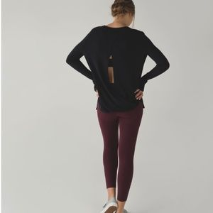 Bring it Backbend- Cashmere sweater- Open back